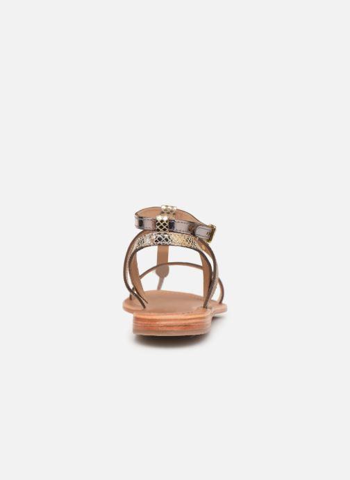 Sandales et nu-pieds Les Tropéziennes par M Belarbi Baie Beige vue droite