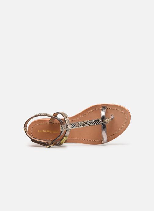 Sandales et nu-pieds Les Tropéziennes par M Belarbi Baie Beige vue gauche