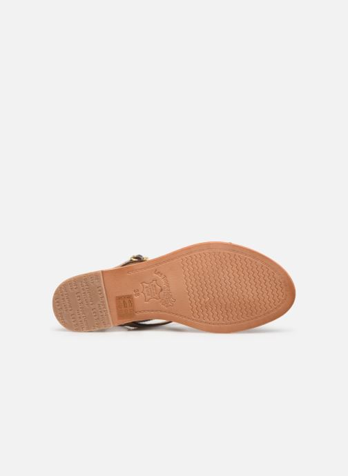 Sandales et nu-pieds Les Tropéziennes par M Belarbi Baie Beige vue haut