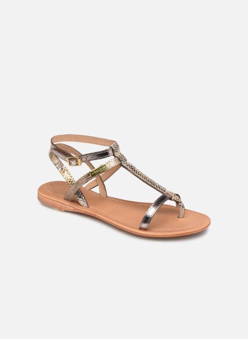 Sandales et nu-pieds Les Tropéziennes par M Belarbi Baie Beige vue détail/paire