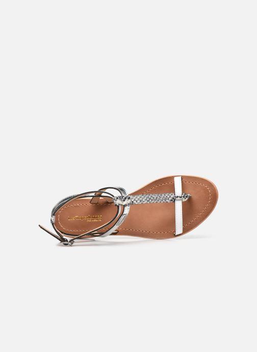 Sandali e scarpe aperte Les Tropéziennes par M Belarbi Baie Bianco immagine sinistra