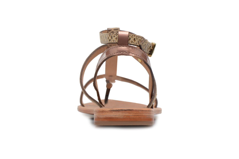Sandali e scarpe aperte Les Tropéziennes par M Belarbi Baie Oro e bronzo immagine destra