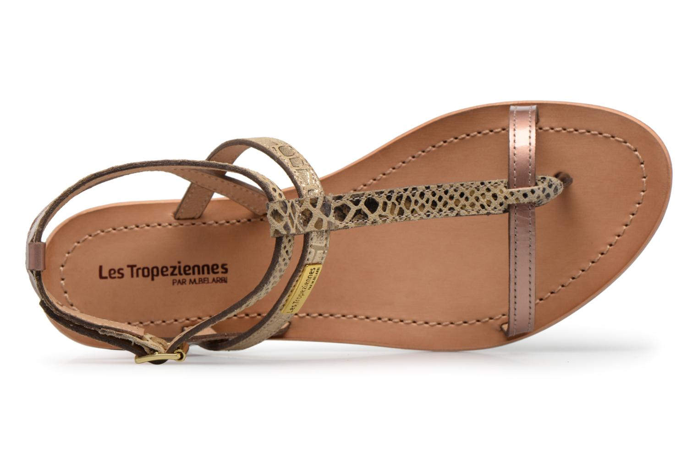 Sandali e scarpe aperte Les Tropéziennes par M Belarbi Baie Oro e bronzo immagine sinistra