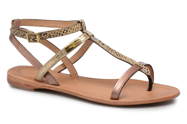 Sandali e scarpe aperte Les Tropéziennes par M Belarbi Baie Oro e bronzo vedi dettaglio/paio