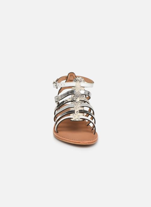 Sandales et nu-pieds Les Tropéziennes par M Belarbi Baille Blanc vue portées chaussures