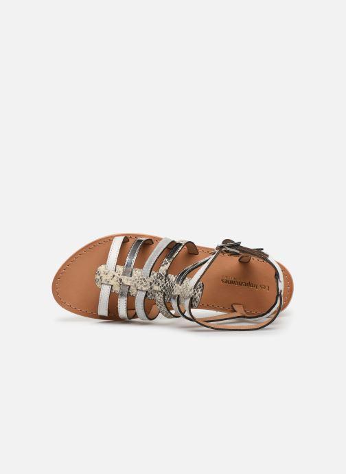 Sandales et nu-pieds Les Tropéziennes par M Belarbi Baille Blanc vue gauche