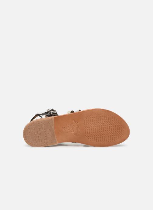 Sandales et nu-pieds Les Tropéziennes par M Belarbi Baille Blanc vue haut