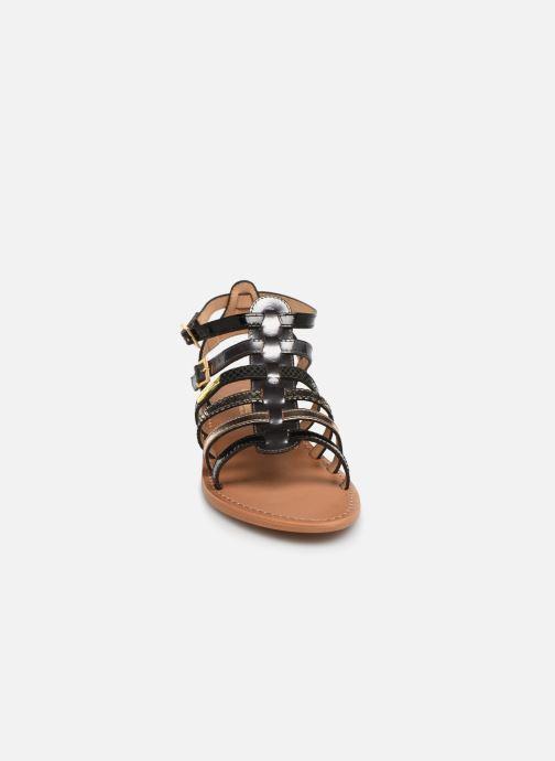 Sandales et nu-pieds Les Tropéziennes par M Belarbi Baille Noir vue portées chaussures