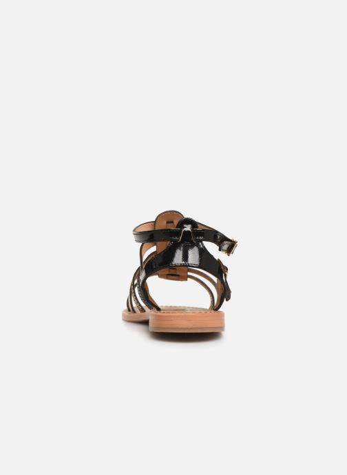 Sandales et nu-pieds Les Tropéziennes par M Belarbi Baille Noir vue droite