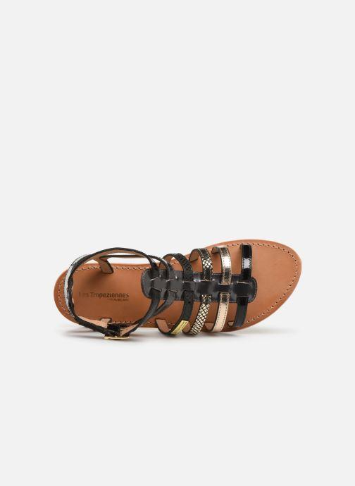 Sandales et nu-pieds Les Tropéziennes par M Belarbi Baille Noir vue gauche