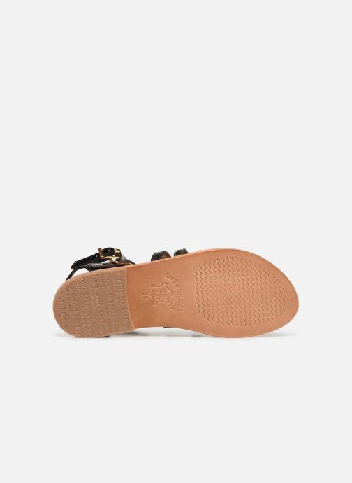 Sandales et nu-pieds Les Tropéziennes par M Belarbi Baille Noir vue haut
