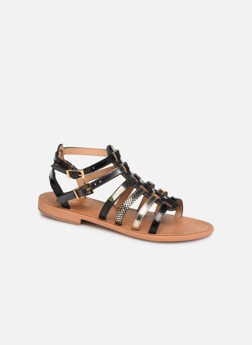 Sandales et nu-pieds Les Tropéziennes par M Belarbi Baille Noir vue détail/paire