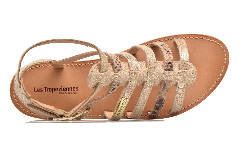 Sandales et nu-pieds Les Tropéziennes par M Belarbi Baille Or et bronze vue gauche