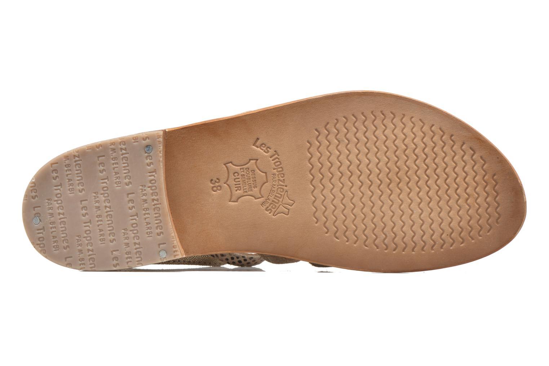 Sandales et nu-pieds Les Tropéziennes par M Belarbi Baille Or et bronze vue haut