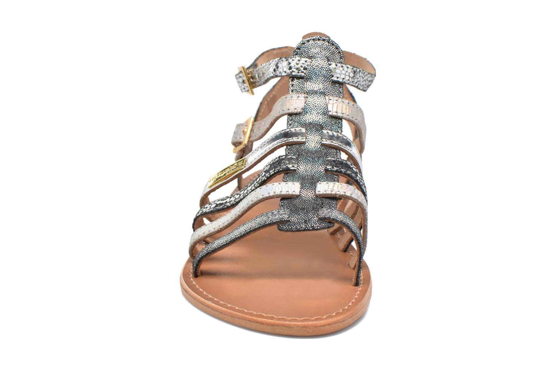 Sandales et nu-pieds Les Tropéziennes par M Belarbi Baille Gris vue portées chaussures