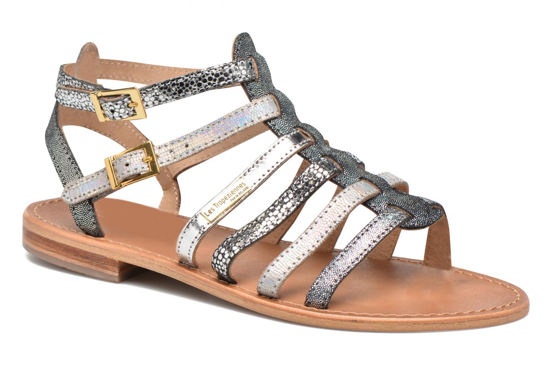 Sandales et nu-pieds Les Tropéziennes par M Belarbi Baille Gris vue détail/paire
