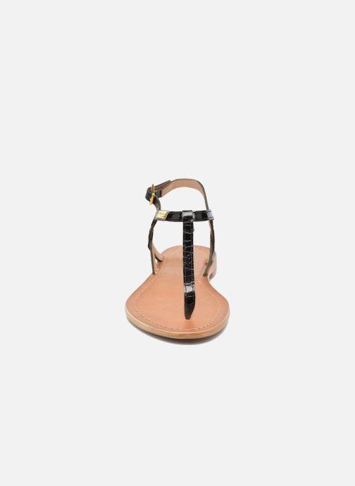 Sandales et nu-pieds Les Tropéziennes par M Belarbi Billy Noir vue portées chaussures