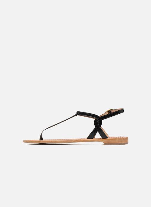 Sandales et nu-pieds Les Tropéziennes par M Belarbi Billy Noir vue face