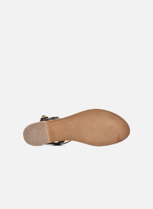 Sandales et nu-pieds Les Tropéziennes par M Belarbi Billy Noir vue haut