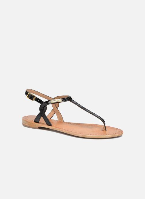 Sandales et nu-pieds Les Tropéziennes par M Belarbi Billy Noir vue détail/paire