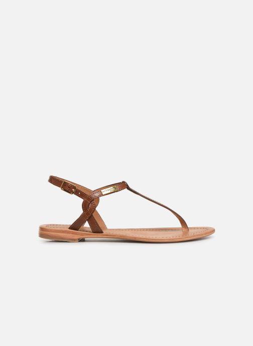 Sandales et nu-pieds Les Tropéziennes par M Belarbi Billy Marron vue derrière