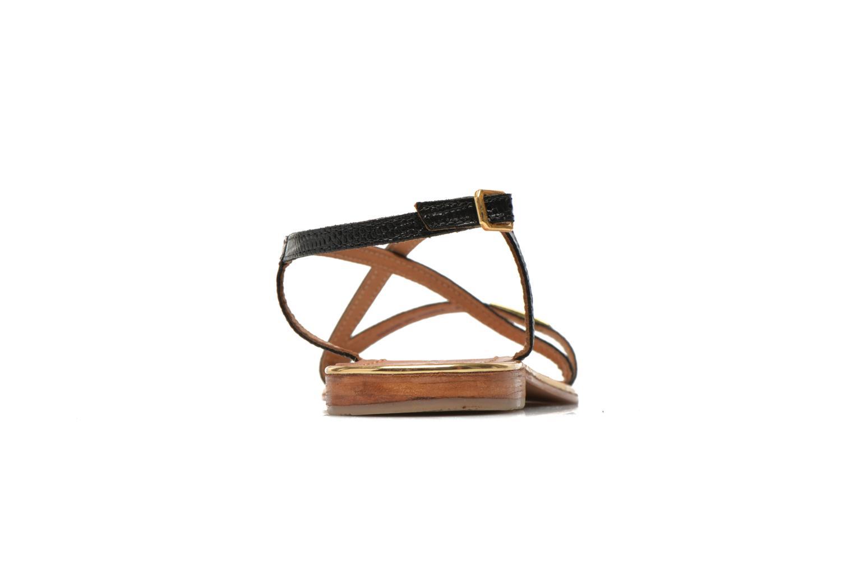 Sandales et nu-pieds Les Tropéziennes par M Belarbi Basilic Noir vue droite