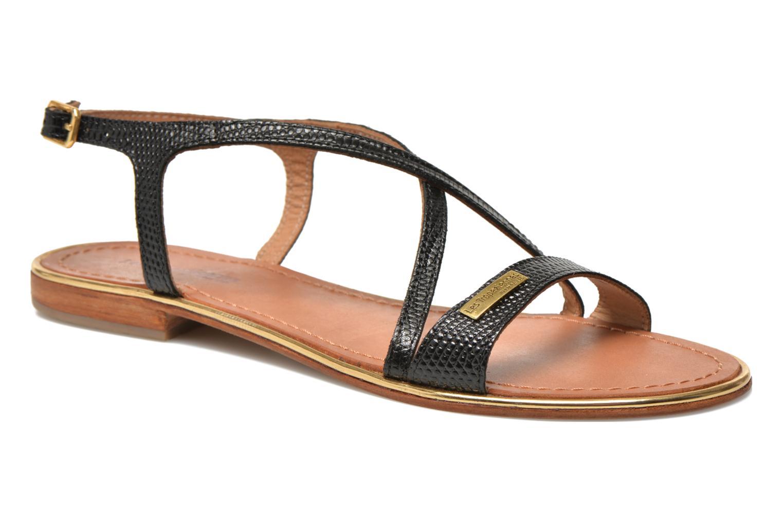 Sandales et nu-pieds Les Tropéziennes par M Belarbi Basilic Noir vue détail/paire