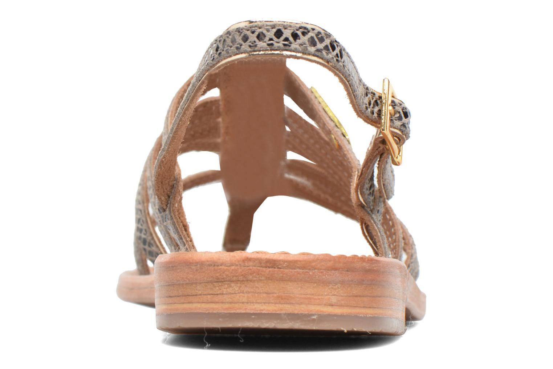 Sandals Les Tropéziennes par M Belarbi Herbier Grey view from the right