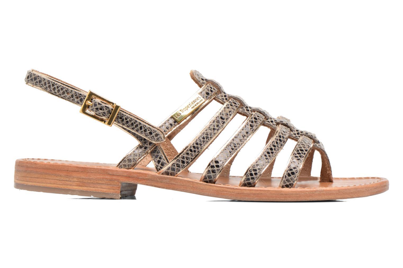 Sandales et nu-pieds Les Tropéziennes par M Belarbi Herbier Gris vue derrière
