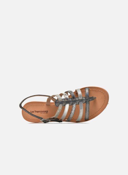 Sandales et nu-pieds Les Tropéziennes par M Belarbi Belinda Argent vue gauche