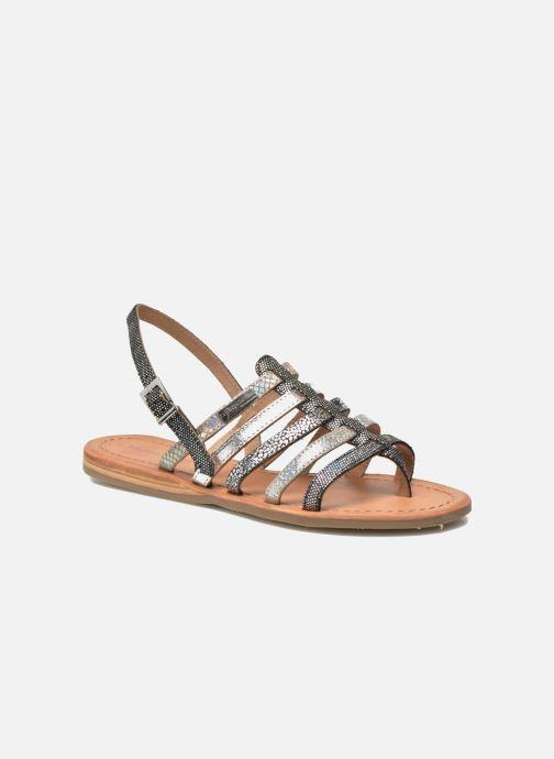 Sandales et nu-pieds Les Tropéziennes par M Belarbi Belinda Argent vue détail/paire