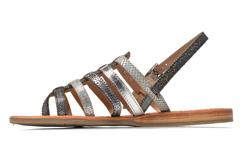 Sandales et nu-pieds Les Tropéziennes par M Belarbi Belinda Argent vue face