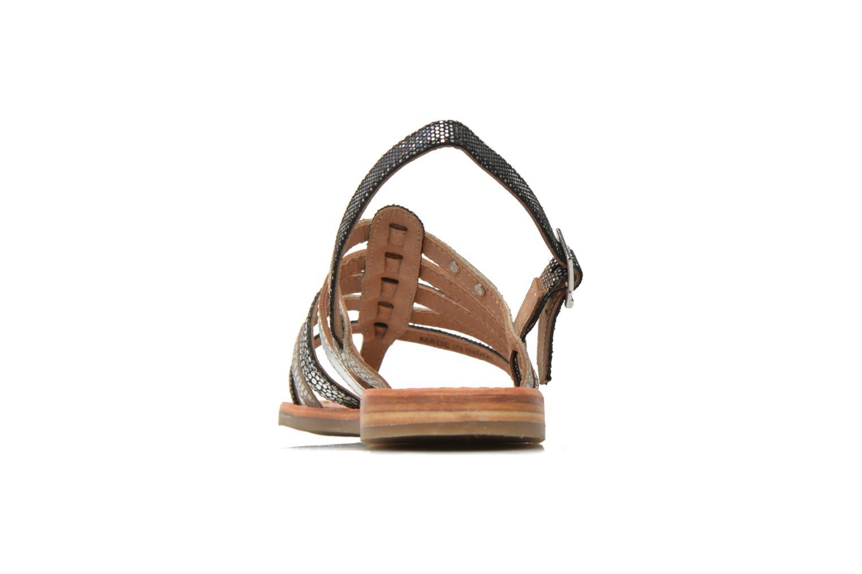 Sandales et nu-pieds Les Tropéziennes par M Belarbi Belinda Argent vue droite
