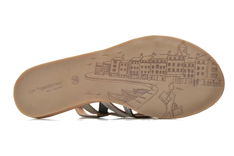 Sandales et nu-pieds Les Tropéziennes par M Belarbi Belinda Argent vue haut