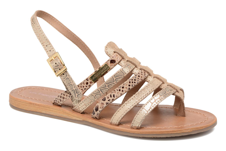 Sandales et nu-pieds Les Tropéziennes par M Belarbi Belinda Or et bronze vue détail/paire