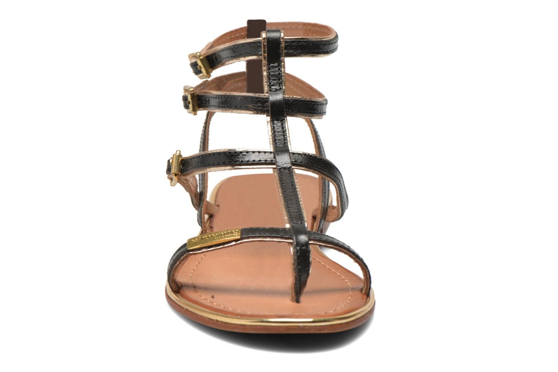 Sandales et nu-pieds Les Tropéziennes par M Belarbi Bristol Noir vue portées chaussures