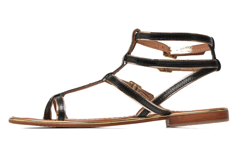 Sandales et nu-pieds Les Tropéziennes par M Belarbi Bristol Noir vue face