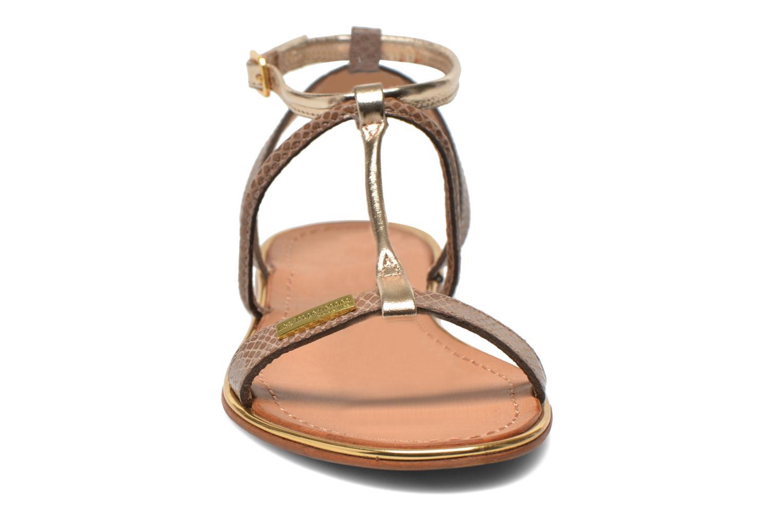 Sandalen Les Tropéziennes par M Belarbi Haquina gold/bronze schuhe getragen