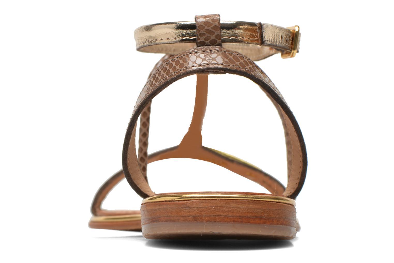 Sandalen Les Tropéziennes par M Belarbi Haquina gold/bronze ansicht von rechts