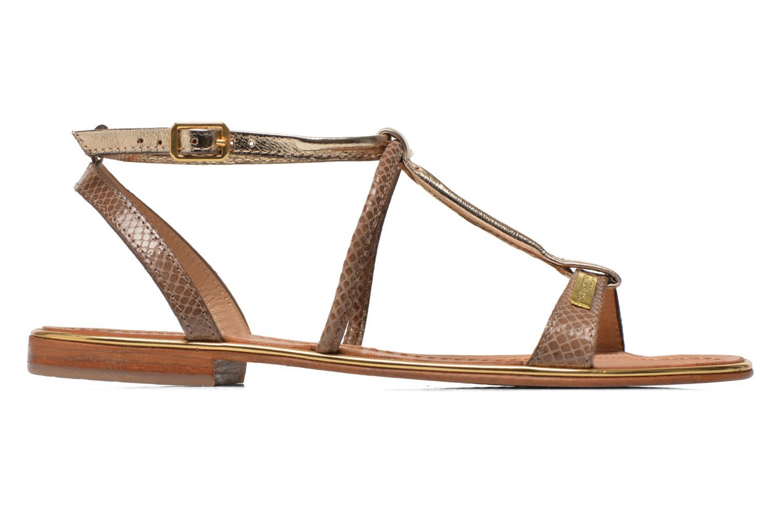 Sandals Les Tropéziennes par M Belarbi Haquina Bronze and Gold back view
