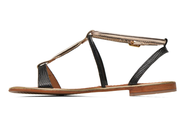 Sandales et nu-pieds Les Tropéziennes par M Belarbi Haquina Noir vue face