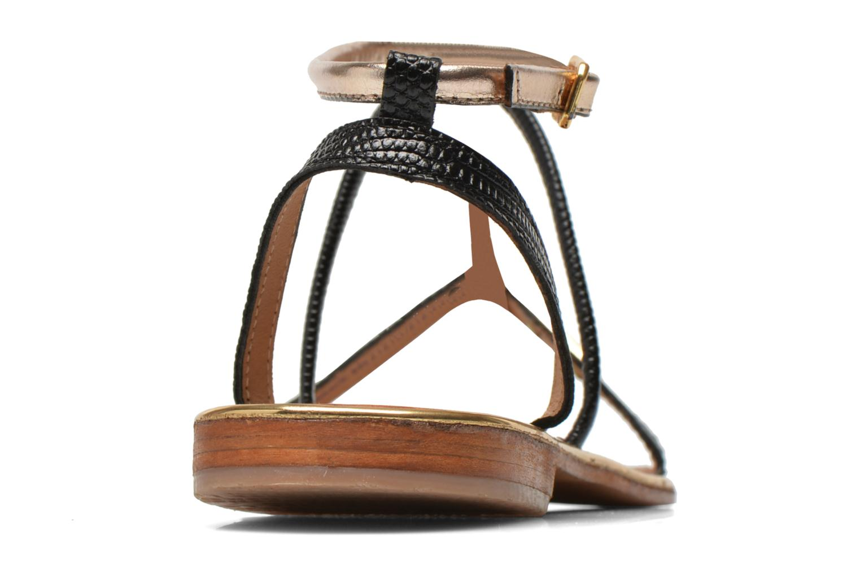 Sandales et nu-pieds Les Tropéziennes par M Belarbi Haquina Noir vue droite