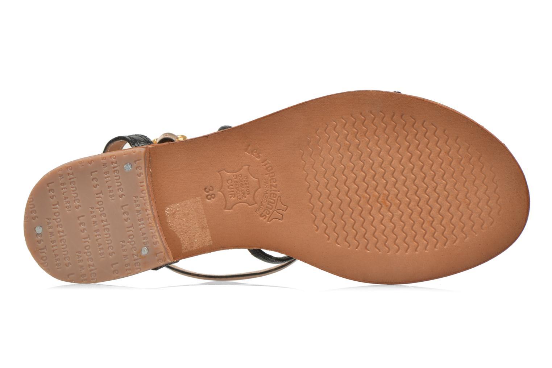 Sandales et nu-pieds Les Tropéziennes par M Belarbi Haquina Noir vue haut