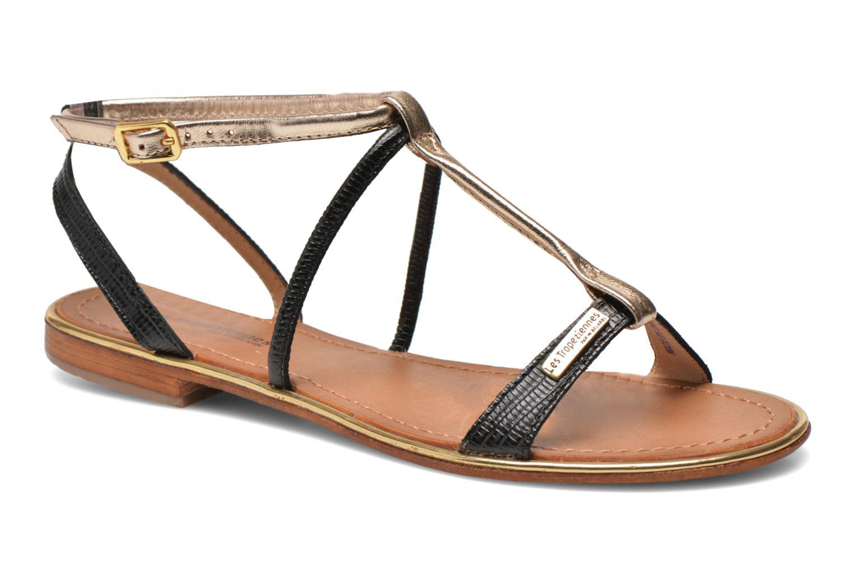 Sandales et nu-pieds Les Tropéziennes par M Belarbi Haquina Noir vue détail/paire