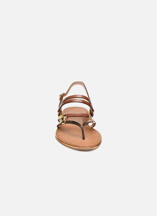 Sandalen Les Tropéziennes par M Belarbi Cumin braun schuhe getragen