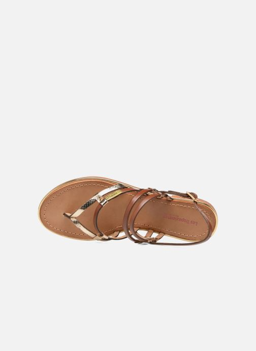 Sandales et nu-pieds Les Tropéziennes par M Belarbi Cumin Marron vue gauche