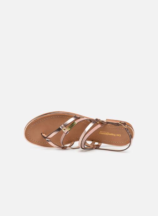 Sandales et nu-pieds Les Tropéziennes par M Belarbi Cumin Rose vue gauche