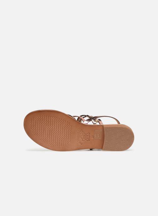 Sandales et nu-pieds Les Tropéziennes par M Belarbi Cumin Rose vue haut