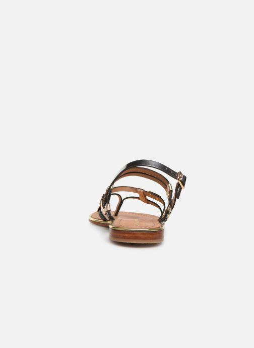 Sandales et nu-pieds Les Tropéziennes par M Belarbi Cumin Noir vue droite