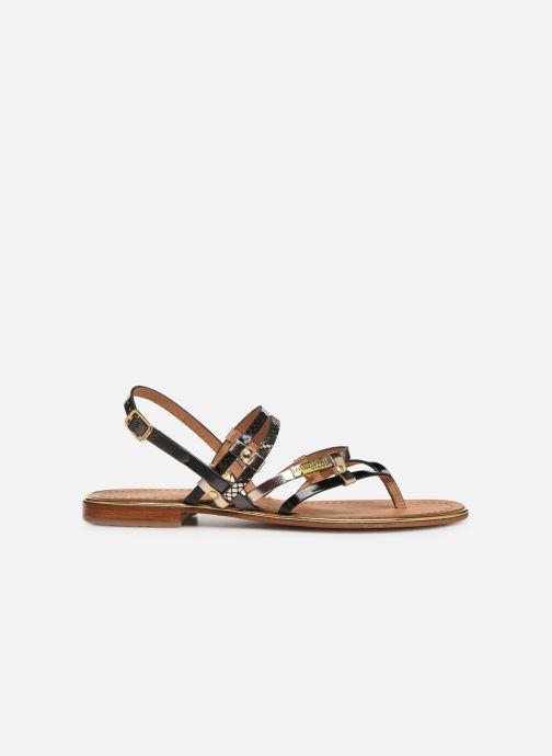 Sandales et nu-pieds Les Tropéziennes par M Belarbi Cumin Noir vue derrière